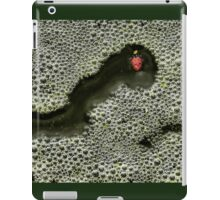 Lady Red Bubbles iPad Case/Skin