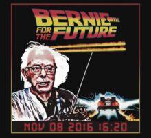 BERNIE FOR THE FUTURE T SHIRT by UTDESI