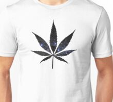 Space Leaf Unisex T-Shirt