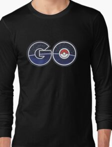 pokemon go real word Long Sleeve T-Shirt