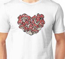 I Heart Mushrooms Unisex T-Shirt