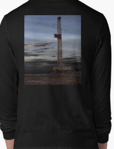 Black Gold Rush Long Sleeve T-Shirt