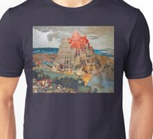 The Tower of Babel - Pieter Brueghel the Younger Unisex T-Shirt
