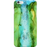 Take The Plunge - Abstract Waterfall iPhone Case/Skin
