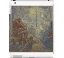 Vincent Van Gogh - Night after Millet, 1889 iPad Case/Skin