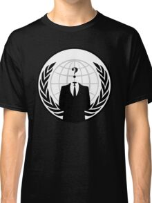 who is anonymous ? Classic T-Shirt