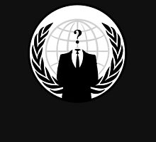 who is anonymous ? Unisex T-Shirt