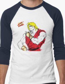 Streetfighter Ken Men's Baseball ¾ T-Shirt