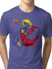 Streetfighter Ken Tri-blend T-Shirt