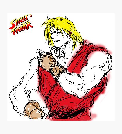 Streetfighter Ken Photographic Print