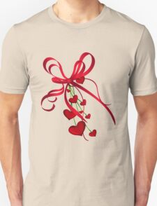 Ribbon Hearts T-Shirt