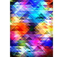 Textural Geometry of Color Photographic Print
