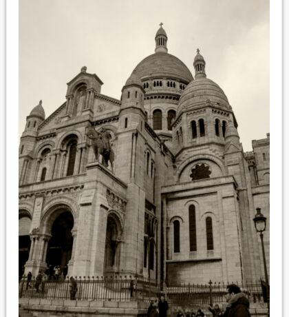 Sacre Coeur Sticker