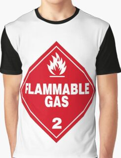 Flammable gas Graphic T-Shirt