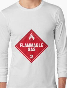Flammable gas Long Sleeve T-Shirt