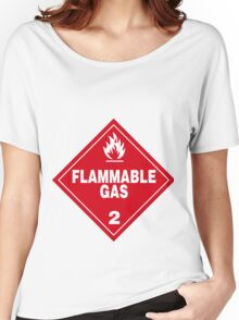 Flammable gas Women's Relaxed Fit T-Shirt