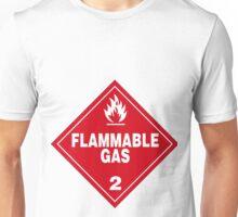 Flammable gas Unisex T-Shirt