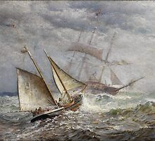 seascape James Gale Tyler (American,  by Adam Asar