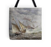 seascape James Gale Tyler (American,  Tote Bag