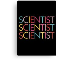 Scientist Canvas Print