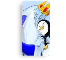 Adventure Time The Ice King Canvas Print