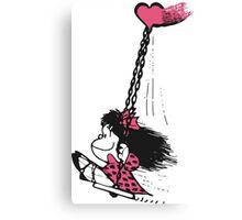 Mafalda Free Canvas Print