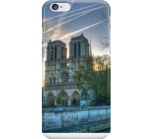 The Lady & The Jet Trails iPhone Case/Skin