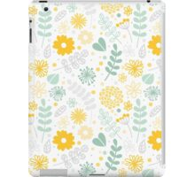 Funny floral pattern iPad Case/Skin