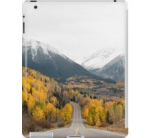 Wilderness Road, Mountains and Forest iPad Case/Skin