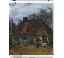 Vincent Van Gogh - Farmhouse in Nuenen, 1885 iPad Case/Skin
