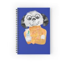 Any chance of a refill? Iced tea shih tzu Spiral Notebook