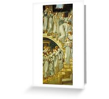 Sir Edward Coley Burne-Jones - The Golden Stairs, Tate Britain Greeting Card