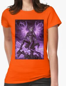 Energy wings Womens Fitted T-Shirt
