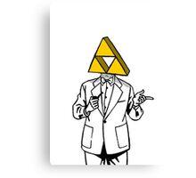 Triforce Heroes Canvas Print