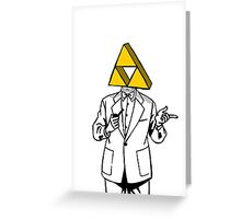 Triforce Heroes Greeting Card