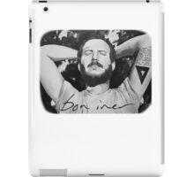 Bon Iver/Justin Vernon Painting iPad Case/Skin