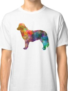 Nova Scotia Duck Tolling Retriever in watercolor Classic T-Shirt
