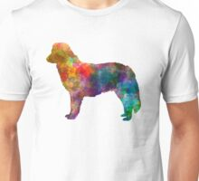Nova Scotia Duck Tolling Retriever in watercolor Unisex T-Shirt
