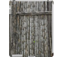 Bamboo and Barbed Wire Fence iPad Case/Skin