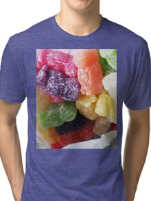Jelly Babies in a white paper bag Tri-blend T-Shirt