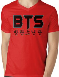 ♥♫BTS-Bangtan Boys K-Pop Clothes & Phone/iPad/Laptop/MackBook Cases/Skins & Bags & Home Decor & Stationary♪♥ Mens V-Neck T-Shirt