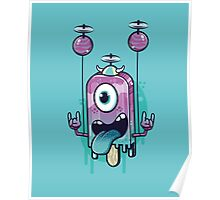 Flying Icecream Poster