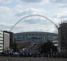Wembley Stadium by ThomasQuder