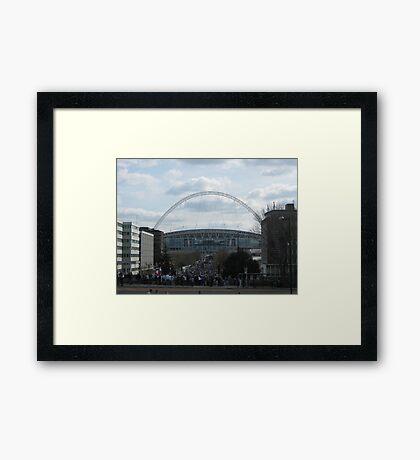 Wembley Stadium Framed Print