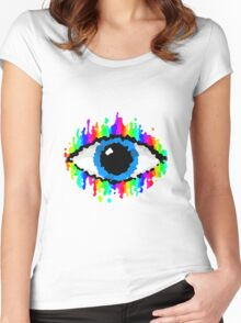 Eye of Endless Colour Women's Fitted Scoop T-Shirt