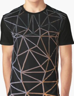 Wire Frame Armor Graphic T-Shirt