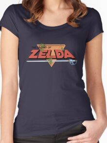 The Legend of Zelda - Classic Logo Women's Fitted Scoop T-Shirt