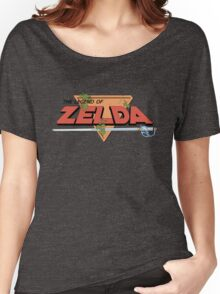 The Legend of Zelda - Classic Logo Women's Relaxed Fit T-Shirt