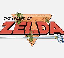 The Legend of Zelda - Classic Logo by Wes McKiel