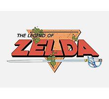 The Legend of Zelda - Classic Logo Photographic Print